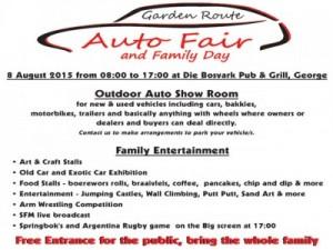 Garden Route Auto Fair and Family Day