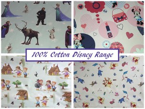 100% Cotton Disney Range Available in George