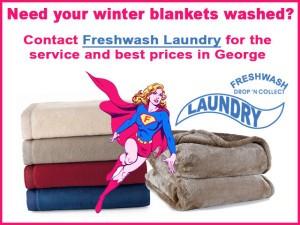 Blanket Washing Service in George