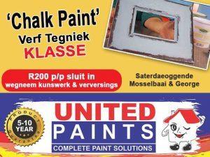 Chalk Paint Verf Tegniek Klasse in Mosselbaai en George