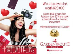 Win a Luxury Cruise with the Garden Route Mall