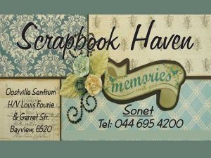 Scrapbook Weekend Break-away Hartenbos Teacher Announced