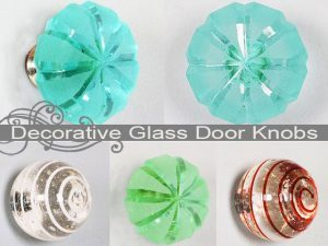 Decorative Glass Door Knobs