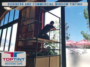 Business and Commercial Window Tinting in George