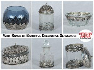 Beautiful Decorative Glassware from African Affair
