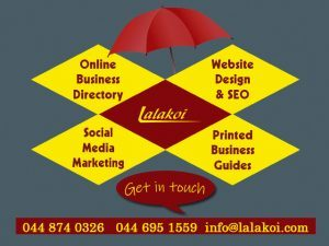 Business Marking in the Garden Route