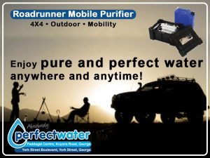 Roadrunner Mobile Water Purifier in George