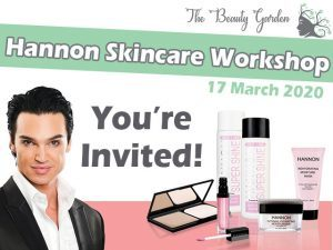 Hannon Skincare Workshop in George
