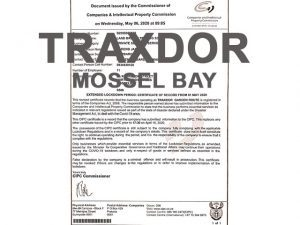 Traxdor Mossel Bay Lockdown Services