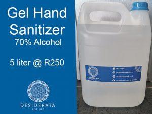 Gel Hand Sanitizer in George